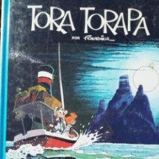 Fumetti: LAS AVENTURAS DE SPIROU Y FANTASIO Nº 36 TORA TORAPA - FOURNIER. Lote 226831935