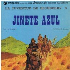 Cómics: JUVENTUD DE BLUEBERRY JINETE AZUL CHARLIER GIRAUD ED JUNIOR GRIJALBO (BUEN ESTADO). Lote 227461345
