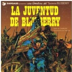 Cómics: TENIENTE BLUEBERRY LA JUVENTUD DE BLUEBERRY CHARLIER GIRAUD ED JUNIOR GRIJALBO (BUEN ESTADO). Lote 227461425