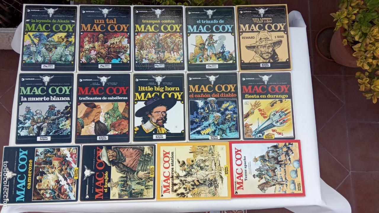 MAC COY AÑO 1978 - 1,2,3,4,5,6,7,8,9,10,11,12,15,17 - MUY NUEVOS (Tebeos y Comics - Grijalbo - Mac Coy)
