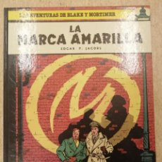 Cómics: LAS AVENTURAS DE BLAKE Y MORTIMER 3; LA MARCA AMARILLA.. Lote 227566140