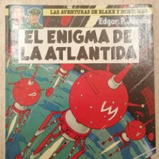 Cómics: LAS AVENTURAS DE BLAKE Y MORTIMER 4; EL ENIGMA DE LA ATLÁNTIDA. Lote 227566300