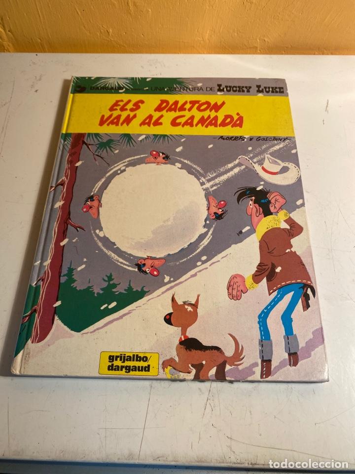ELS DALTON VAN AL CANADA (Tebeos y Comics - Grijalbo - Lucky Luke)
