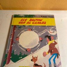 Cómics: ELS DALTON VAN AL CANADA. Lote 227619105