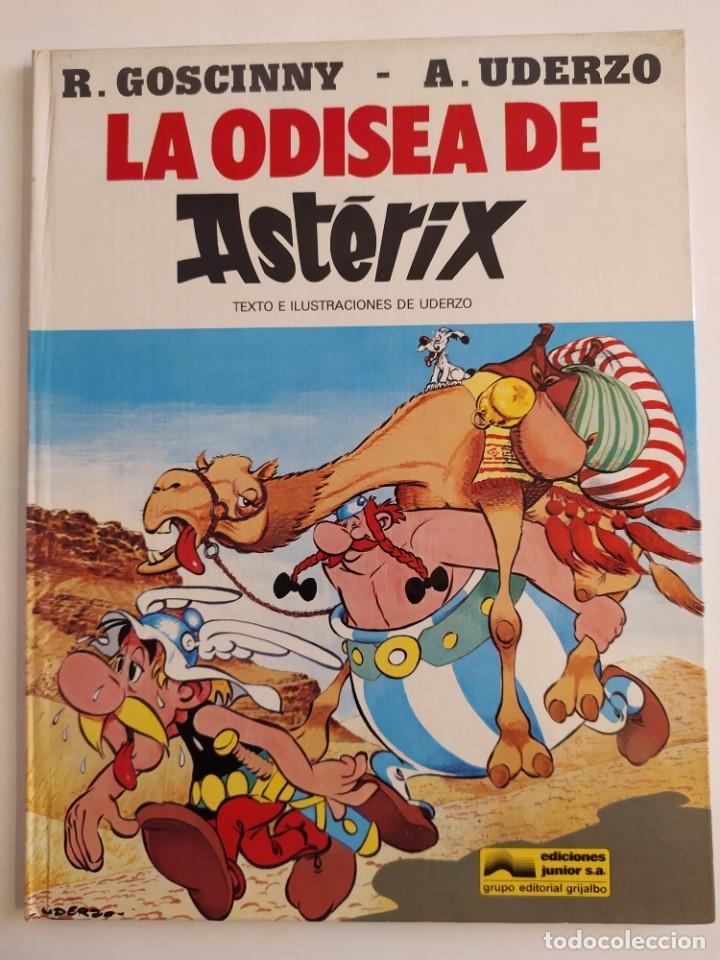 26 LA ODISEA DE ASTERIX - UDERZO - JUNIOR (GRUPO EDITORIAL GRIJALBO) - 1981 (Tebeos y Comics - Grijalbo - Asterix)