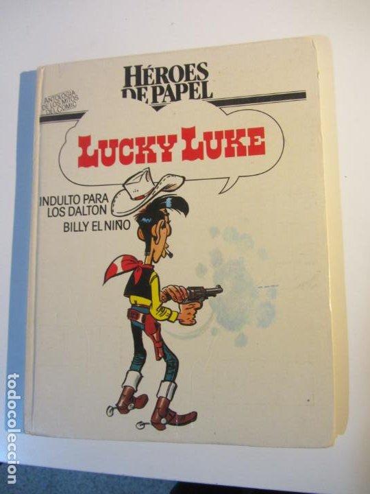 LUCKY LUKE: INDULTO PARA LOS DALTON - BILLY EL NIÑO / GOSCINNY / HÉROES DE PAPEL ARX21 (Tebeos y Comics - Grijalbo - Lucky Luke)