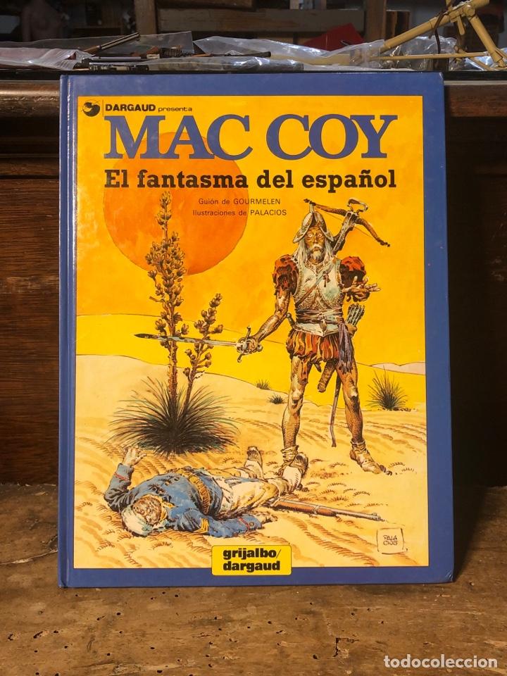 MAC COY: EL FANTASMA ESPAÑOL- GRIJALBO DARGAUD (Tebeos y Comics - Grijalbo - Mac Coy)