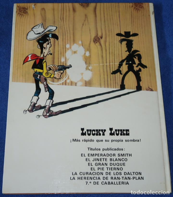 Cómics: El 7º de caballería - Lucky Luke - Ediciones Junior - Grijalbo ¡1ª edición! (1978) - Foto 6 - 228194322