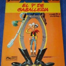 Cómics: EL 7º DE CABALLERÍA - LUCKY LUKE - EDICIONES JUNIOR - GRIJALBO ¡1ª EDICIÓN! (1978). Lote 228194322