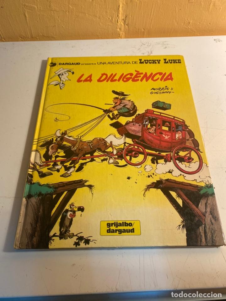 LA DILIGENCIA (Tebeos y Comics - Grijalbo - Lucky Luke)