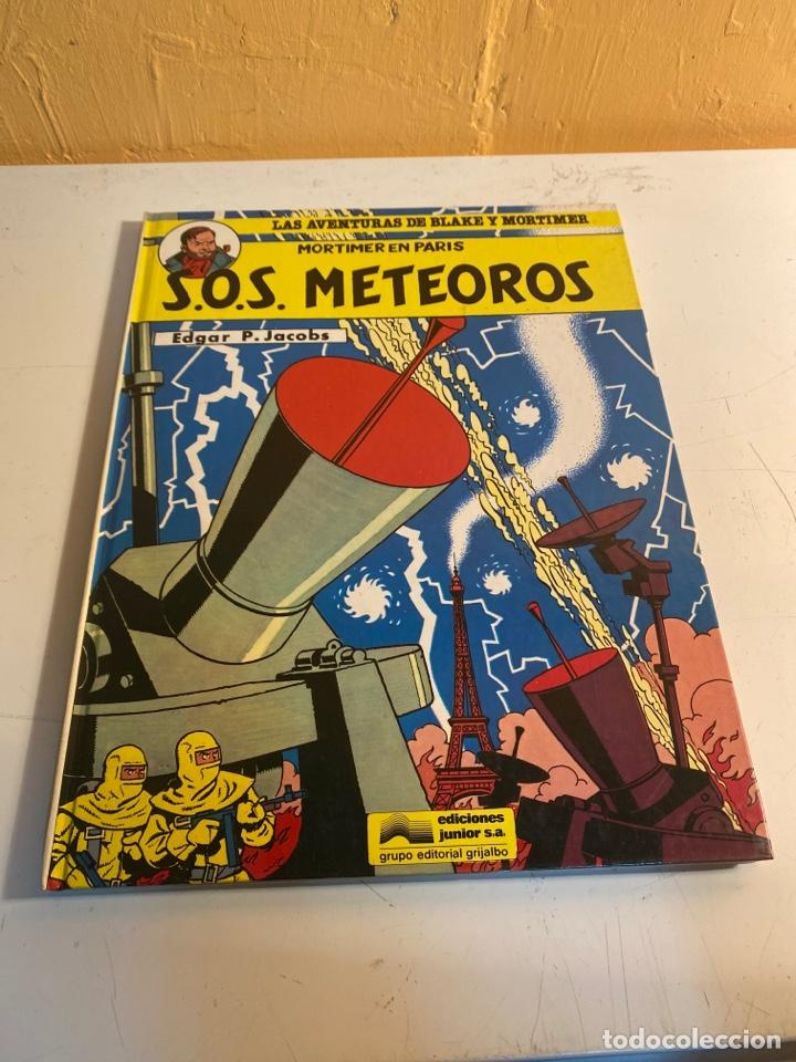 S.O.S. METEOROS (Tebeos y Comics - Grijalbo - Blake y Mortimer)