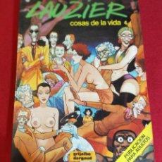 Cómics: COSAS DE LA VIDA 4. GRIJALBO 1987 DIBUJOS LAUZIER. Lote 228520235
