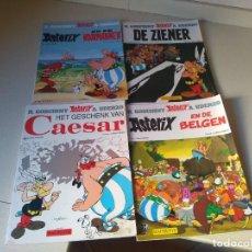 Cómics: LOTE 4 ASTERIX Y OBELIX AÑO 1999 EN HOLANDÉS NERLANDÉS. Lote 228541045