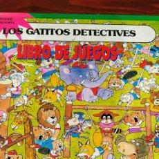 Cómics: LOS GATITOS DETECTIVES. GRIJALBO.. Lote 228748605