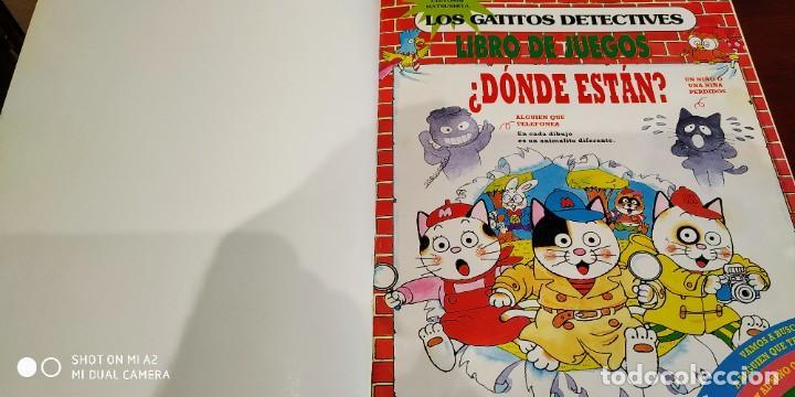 Cómics: Los gatitos detectives. Grijalbo. - Foto 2 - 228748605