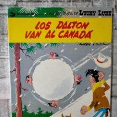 Cómics: LOS DALTON VAN AL CANADA GRIJALBO DARGAUD LUCKY LUKE. Lote 228792525