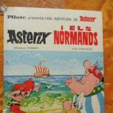 Cómics: PILOTE PRESENTA ASTERIX I ELS NORMANDS - MAS-IVARS EDITORES S.L. 1976. Lote 228839015