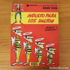 Cómics: LUCKY LUKE INDULTO PARA LOS DALTON / BILLY EL NIÑO, MORRIS GOSCINNY. GRIJALBO DARGAUD 1985. Lote 228865156