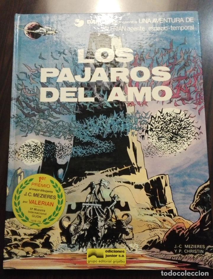 VALERIAN AGENTE ESPACIO TEMPORAL Nº4: LOS PAJAROS DEL AMO (Tebeos y Comics - Grijalbo - Valerian)