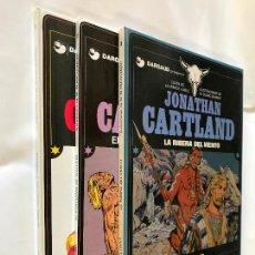 Cómics: JONATHAN CARTLAND Nº 1, 2, 3 - POR LAURENCE HARLE Y M. BLANC-DUMONT- GRIJALBO/DARGAUD. Lote 229027670
