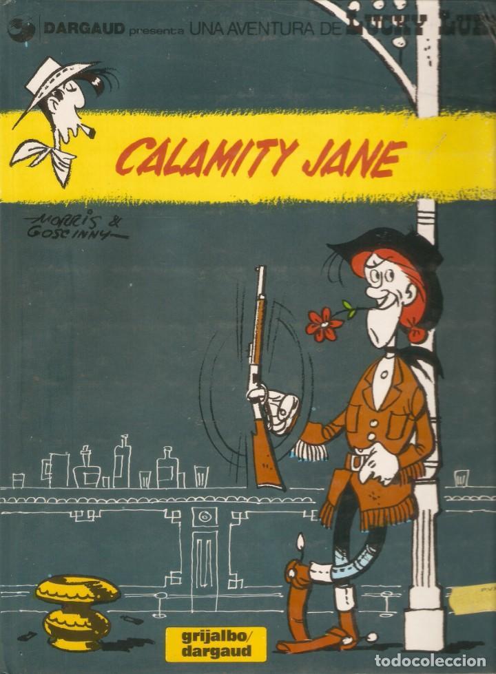 CALAMITY JANE - LUCKY LUKE - MORRIS Y GOSCINNY - Nº 25 - GRIJALBO / DARGAUD - 1991. (Tebeos y Comics - Grijalbo - Lucky Luke)