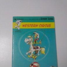 Cómics: LUCKY LUKE NÚMERO 15 WESTERN CIRCUS 1981 GRIJALBO-DARGAUD. Lote 229608380