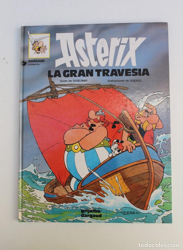 ASTERIX Nº 22 - LA GRAN TRAVESIA - GRIJALBO DARGAUD 1981 (Tebeos y Comics - Grijalbo - Asterix)