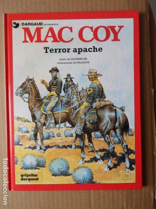 MAC COY. Nº 17. TERROR APACHE EDITORIAL GRIJALBO TAPA DURA (Tebeos y Comics - Grijalbo - Mac Coy)