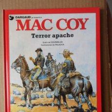 Cómics: MAC COY. Nº 17. TERROR APACHE EDITORIAL GRIJALBO TAPA DURA. Lote 229777940