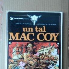 Cómics: MAC COY - Nº 2 - UN TAL MAC COY GRIJALBO TAPA DURA. Lote 229778165