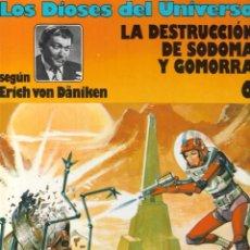 Fumetti: LOS DIOSES DEL UNIVERSO - Nº 6 - LA DESTRUCCIÓN DE SODOMA Y GOMORRA - ERICH VON DÄNIKEN - GRIJALBO.. Lote 229802010