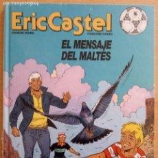 Comics : ERIC CASTEL Nº 15 - EL MENSAJE DEL MALTÉS - JUNIOR 1984. Lote 230205570