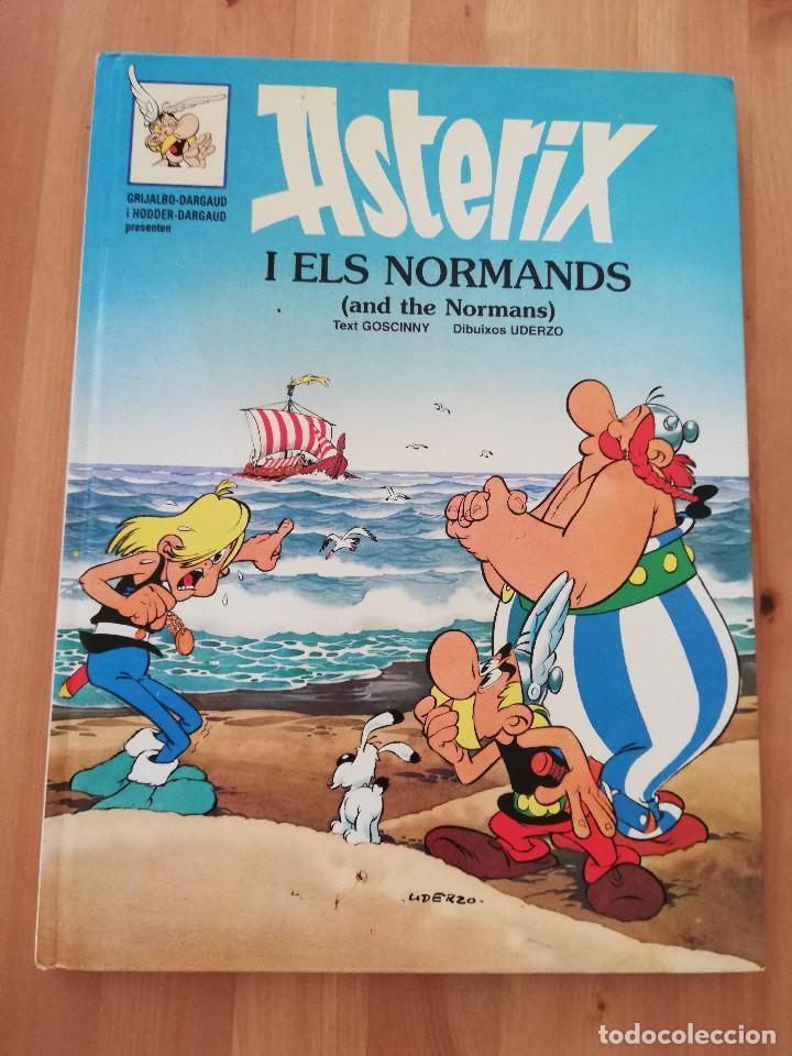ASTERIX I ELS NORMANDS (AND THE NORMANS) INGLÉS / CATALÁN (Tebeos y Comics - Grijalbo - Asterix)