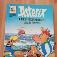 Cómics: ASTERIX I ELS NORMANDS (AND THE NORMANS) INGLÉS / CATALÁN. Lote 230212570