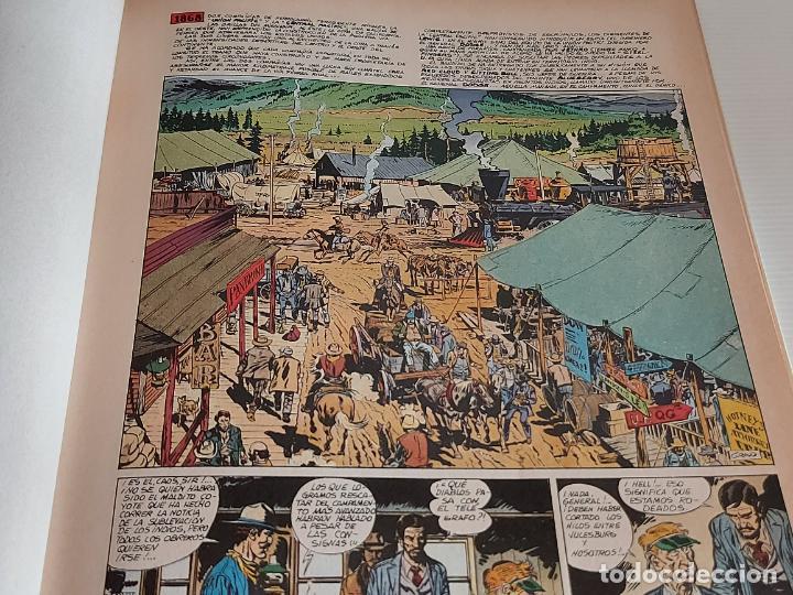 Cómics: DARGAUD PRESENTA / EL HOMBRE DEL PUÑO DE ACERO / EDICIONES JUNIOR-1978 / TAPA DURA - Foto 3 - 230365030