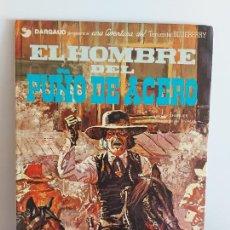 Cómics: DARGAUD PRESENTA / EL HOMBRE DEL PUÑO DE ACERO / EDICIONES JUNIOR-1978 / TAPA DURA. Lote 230365030
