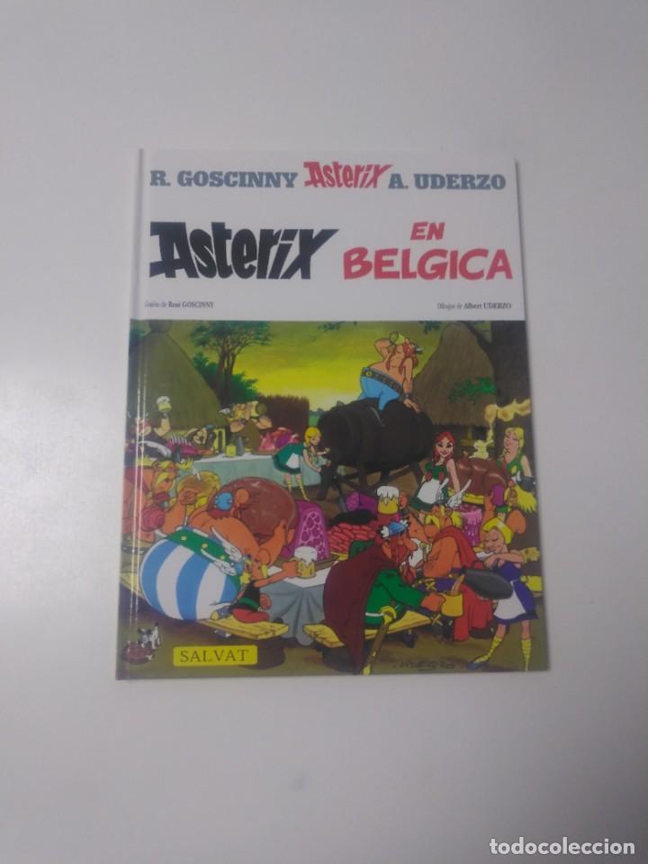 ASTÉRIX EN BÉLGICA NÚMERO 24 EDITORIAL SALVAT 2002 (Tebeos y Comics - Grijalbo - Asterix)