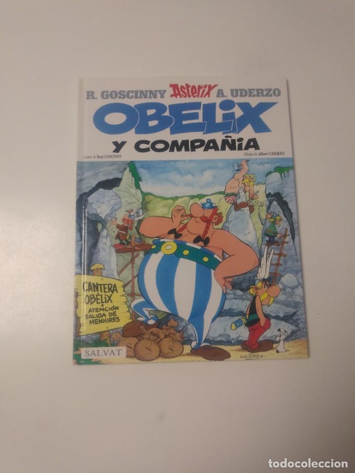 ASTÉRIX OBÉLIX Y COMPAÑÍA NÚMERO 23 EDITORIAL SALVAT 2001 (Tebeos y Comics - Grijalbo - Asterix)