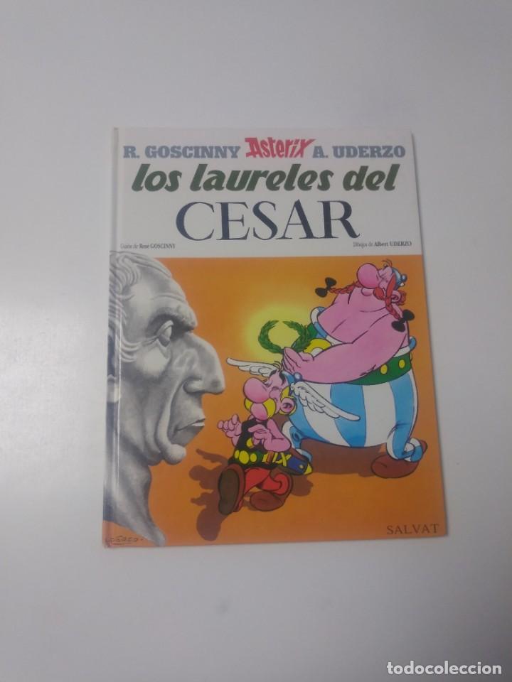 ASTÉRIX LOS LAURELES DEL CÉSAR NÚMERO 18 EDITORIAL SALVAT 1999 (Tebeos y Comics - Grijalbo - Asterix)
