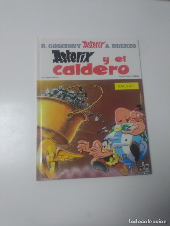ASTÉRIX Y EL CALDERO NÚMERO 13 EDITORIAL SALVAT 2000 (Tebeos y Comics - Grijalbo - Asterix)