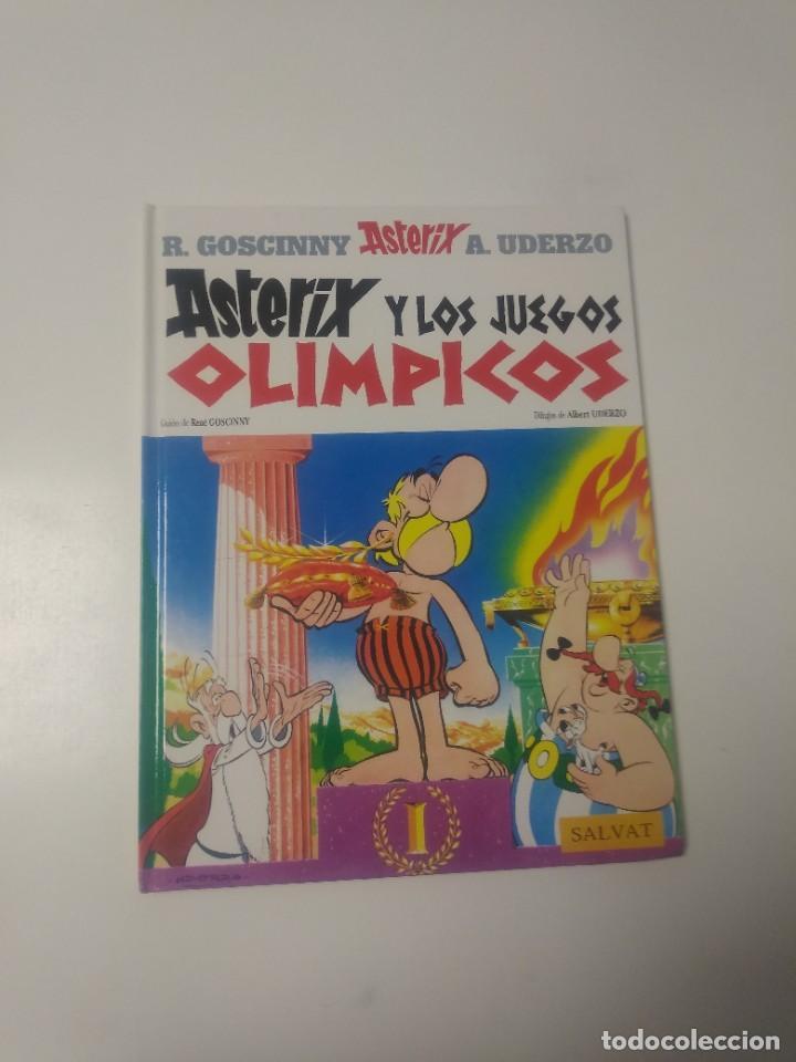 ASTÉRIX Y LOS JUEGOS OLÍMPICOS NÚMERO 12 EDITORIAL SALVAT 2001 (Tebeos y Comics - Grijalbo - Asterix)