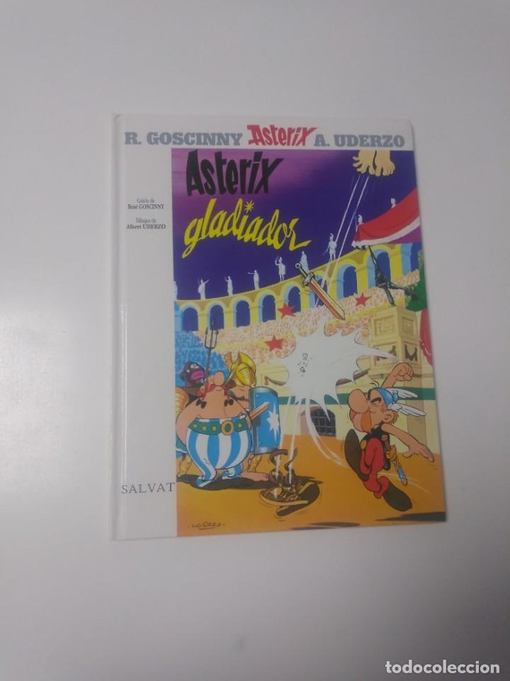 ASTÉRIX GLADIADOR NÚMERO 4 EDITORIAL SALVAT 2000 (Tebeos y Comics - Grijalbo - Asterix)