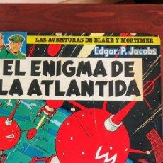 Comics : EL ENIGMA DE LA ATLÁNTIDA. AVENTURAS DE BLAKE Y MORTIMER. Lote 230841100
