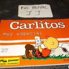 Cómics: CARLITOS SNOOPY 27 EDICIONES JÚNIOR GRIJALBO MUY ESPECIAL. Lote 230882825