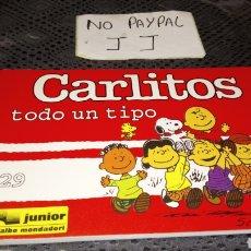 Cómics: CARLITOS SNOOPY 29 EDICIONES JÚNIOR GRIJALBO TODO UN TIPO. Lote 230883470