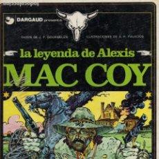 Cómics: LA LEYENDA DE ALEXIS MAC COY. Lote 230919050