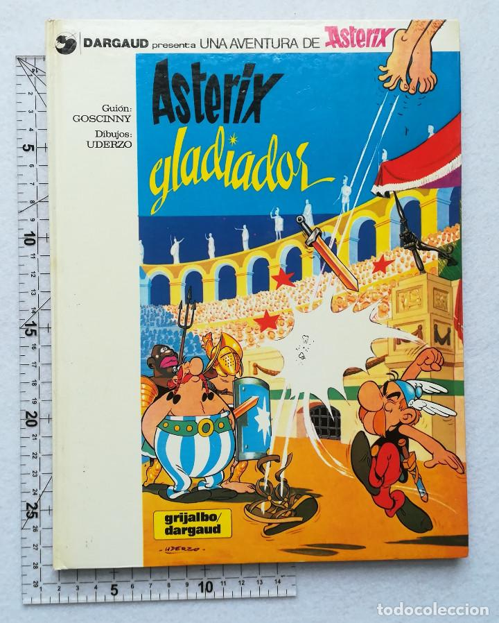 ASTERIX GLADIADOR - GOSCINNY - UDERZO Nº 4 - GRIJALBO - DARGAUD 1980 (Tebeos y Comics - Grijalbo - Asterix)