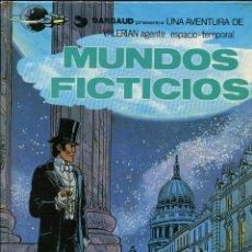 Cómics: VALERIAN. AGENTE ESPACIO TEMPORAL. Nº10. MUNDOS FICTICIOS. GRIJALBO 1981. Lote 231126710