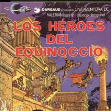 Comics : VALERIAN. AGENTE ESPACIO TEMPORAL. Nº7. LOS HÉROES DEL EQUINOCCIO. GRIJALBO 1982. Lote 231126950
