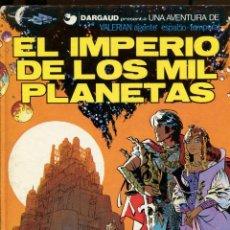Comics : VALERIAN. AGENTE ESPACIO TEMPORAL. Nº1. EL IMPERIO DE LOS MIL PLANETAS. GRIJALBO 1980. Lote 231127820